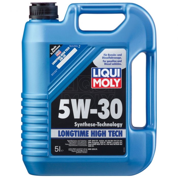 Ulei motor Liqui Moly Long Time High Tech 5W30 5L