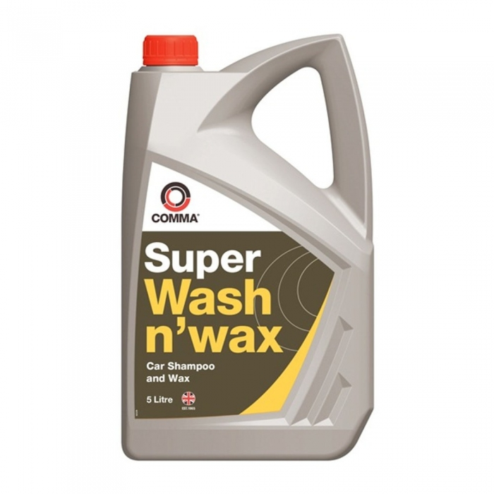 Sampon auto COMMA SUPER WASH N WAX 5L